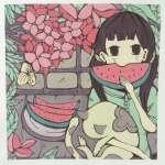 🔴青岛高一学生们的第二张装饰画,从未接触过的他们进步很大!